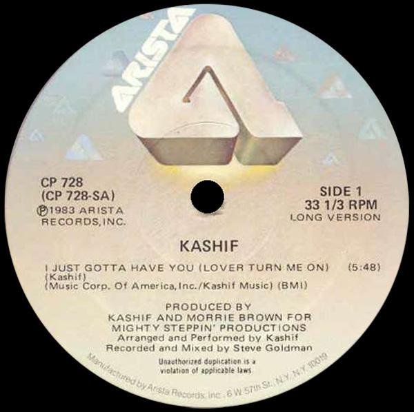Kashif I Just Gotta Have You Lover Turn Me On