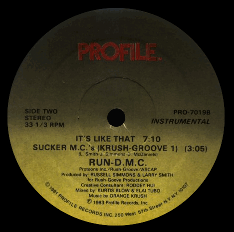 Run-D.M.C. 'It's Like That' (Instrumental)