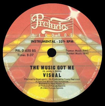 Visual 'The Music Got Me' (Instrumental)