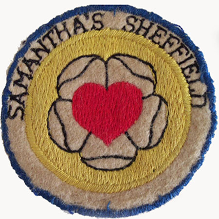 Badge Samanthas Wed Night