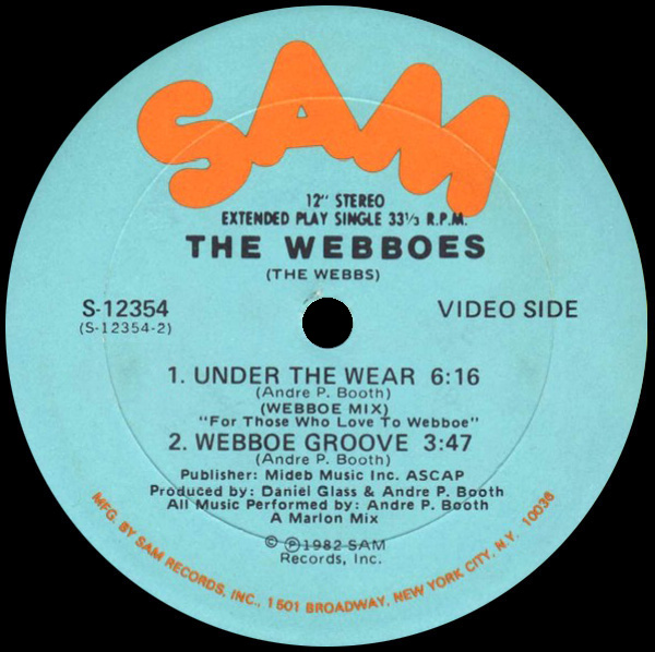 The Webboes 'Under The Wear' (Webboe Mix)