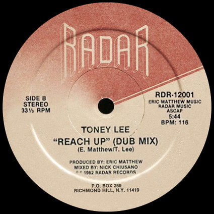 Toney Lee 'Reach Up' (Dub Mix)