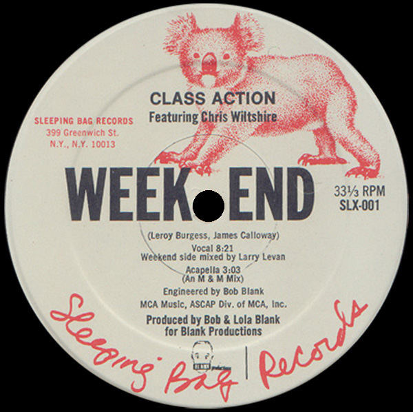 Class Action Featuring Chris Wiltshire 'Weekend'