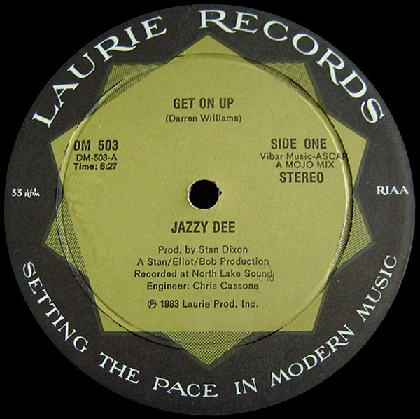 Jazzy Dee 'Get On Up'