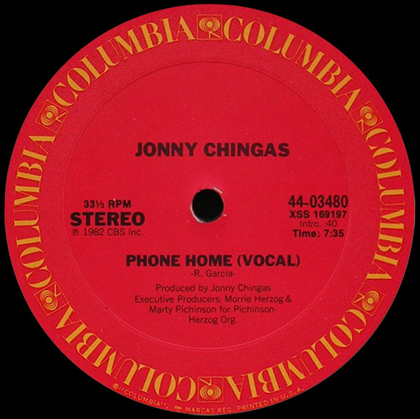 Johnny Chingas 'Phone Home'