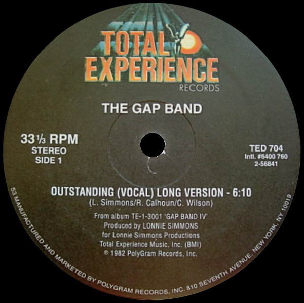 The Gap Band 'Outstanding'