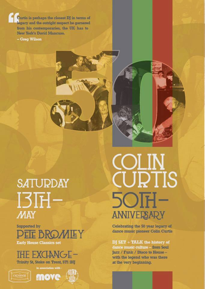 Colin Curtis 50th Anniversary